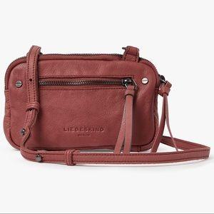 Liebeskind Janian Black Leather Crossbody Bag